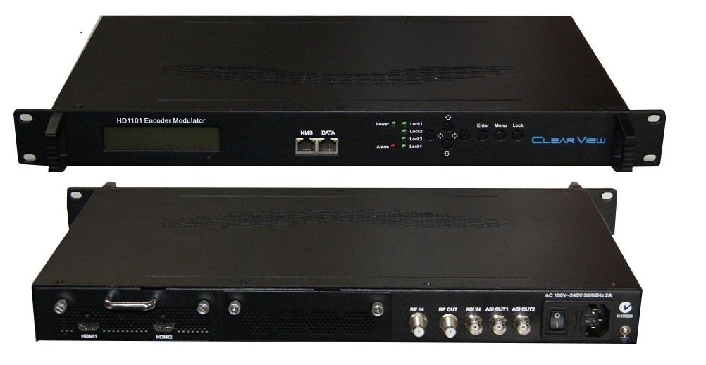 ClearView HD1101 Single HD Encoder Modulator Mpeg2/4